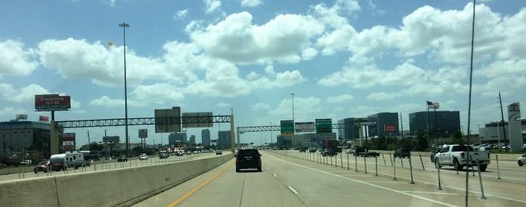 Texas Houston Highways-USMexpats.wordpress.com-Texas-Houston-HOV-Katy Freeway-Large
