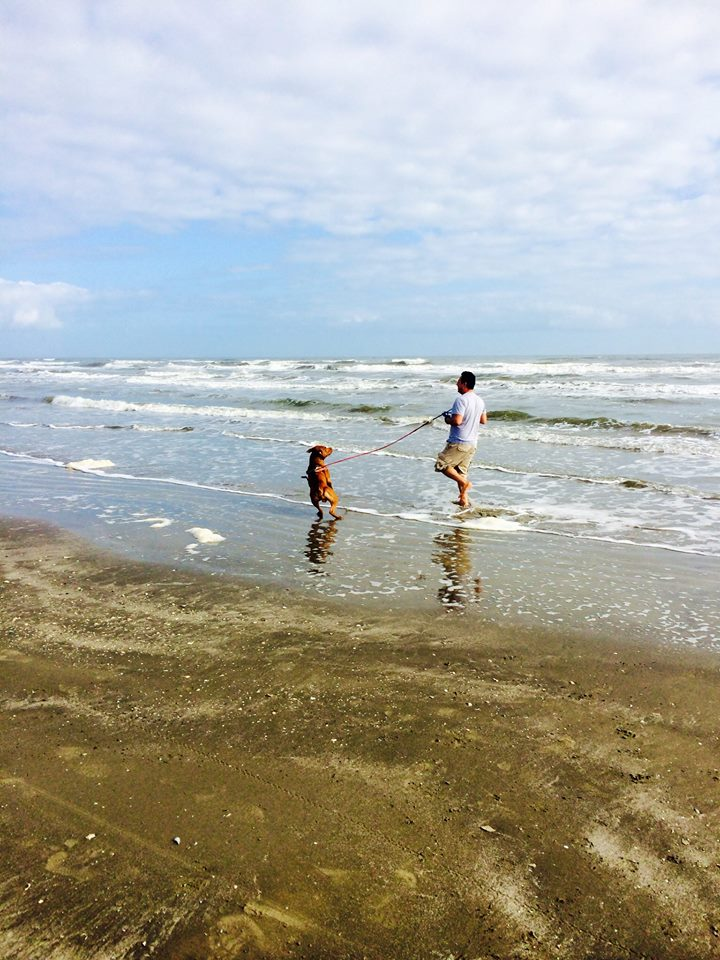 Galveston Charlie and Enrique run