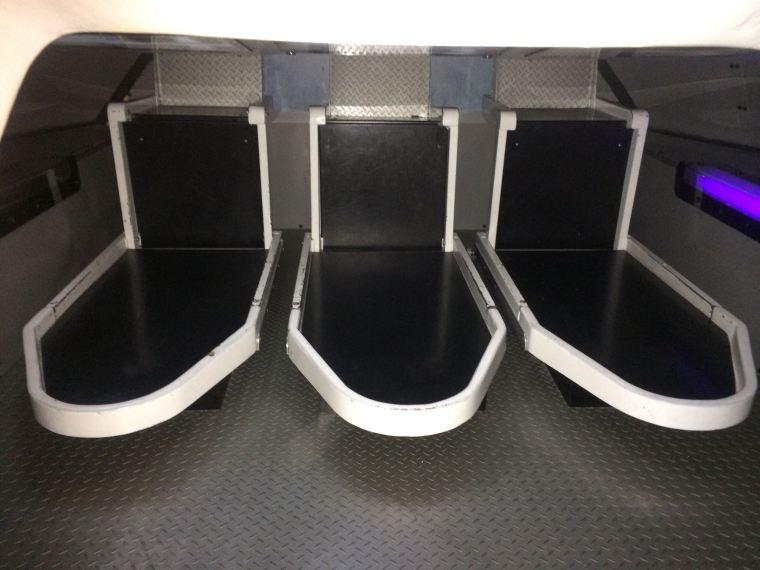 NASA seating
