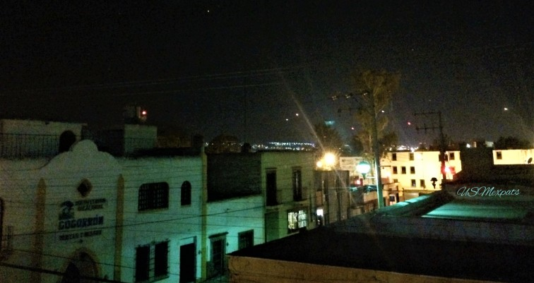 hostel rooftop view of San Luis Potosi USMexpats 1
