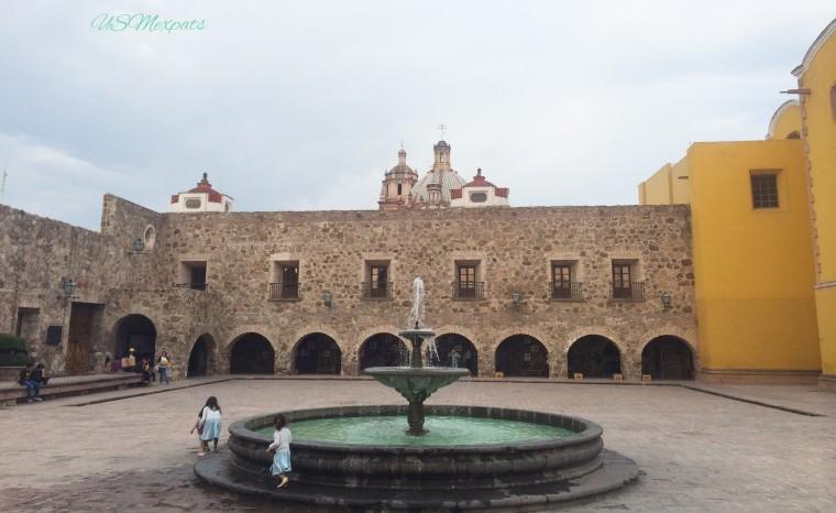Jardin de San Francisco Garden Plaza de Aranzazu center Museo Regional Museum San Luis Potosi USMexpats