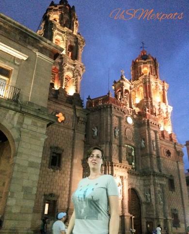 Patty at Catedral Metropolitana de San Luis Rey Potosi cathdral USMexpats