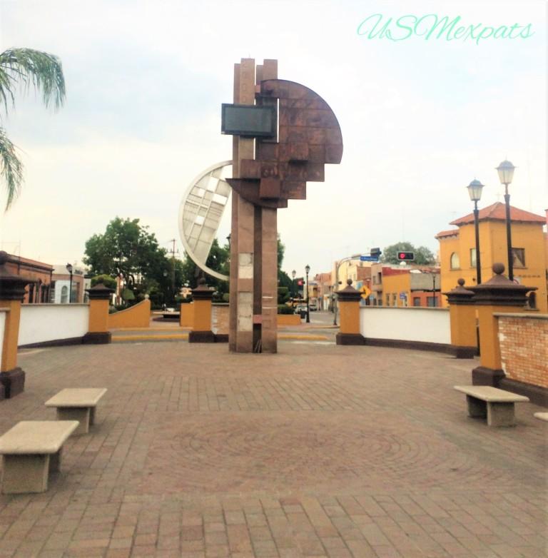 Plaza del Milenio Millenium Plaza sculpture San Luis Potosi USMexpats