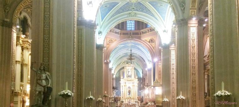 San Luis Potosi Catedral Metropolitana de San Luis Rey King San Luis Metropolitan Cathedral interior wide angle USMexpats