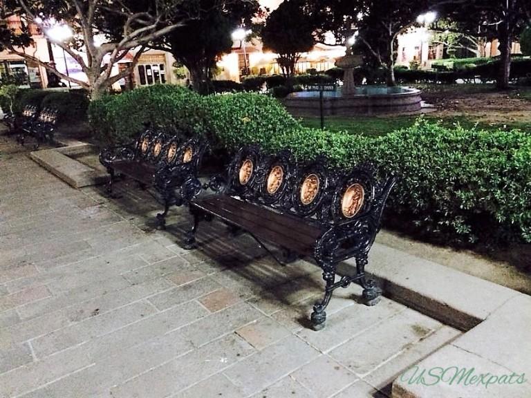 San Luis Potosi Catedral Metropolitana de San Luis Rey King San Luis Metropolitan Cathedral plaza park benches USMexpats