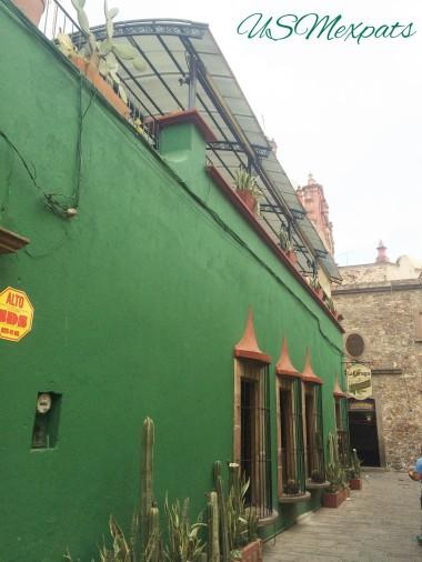 San Luis Potosi green cactus Restaurant rooftop patios USMexpats