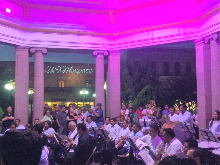 San Luis Potosi plaza de Catedral Metropolitana de San Luis Rey classical concert 3 USMexpats