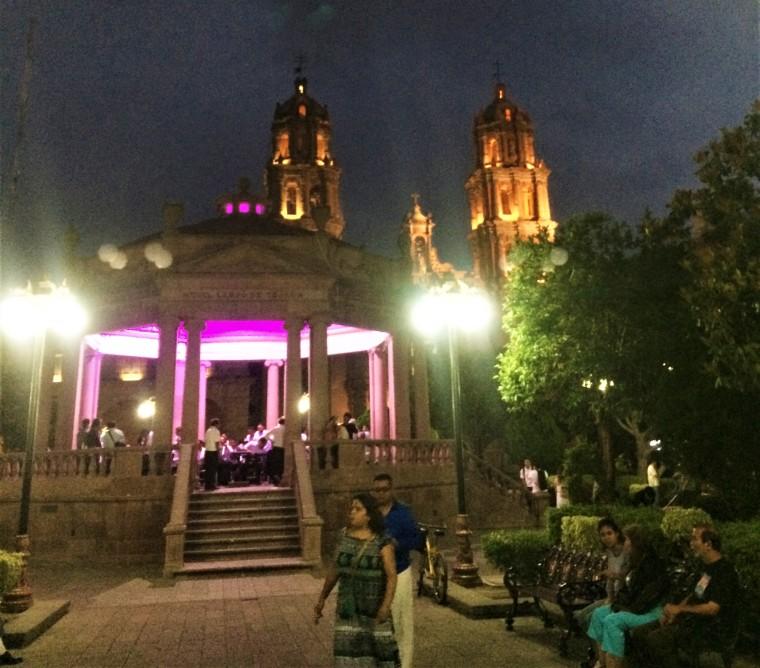 San Luis Potosi plaza de Catedral Metropolitana de San Luis Rey King San Luis Metro Cathedral classical orchestra concert USMexpats