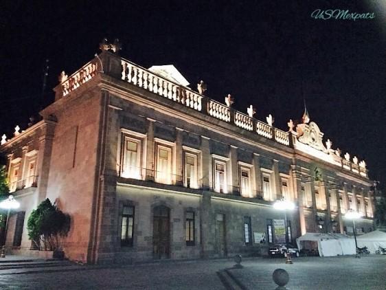 San Luis Potosi Plaza del Milenio building edificio USMexpats